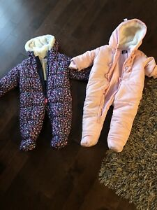 Snow suite for baby girl