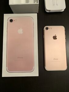 Apple iPhone 7 Rose Gold 32GB + extras