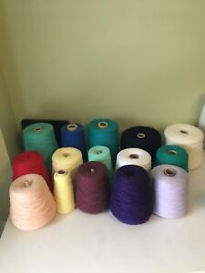 3 knitting machines and ribbers plus extra items