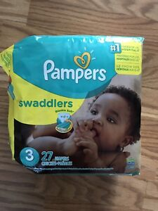 Pampers Swaddlers Size 3 Diapers - Unopened