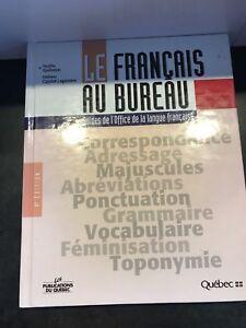 Livre le français au bureau