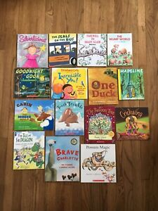 Lot of 15 story books for kids, english, Scholastic