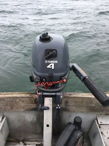 2004 Yamaha 4HP four stroke outboard low hrs