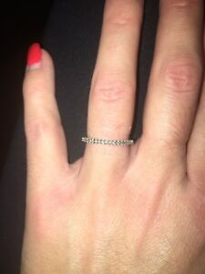 Beautiful diamond wedding band for sale