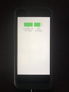 iPhone 6s 128gb with rechargeable apple smart case
