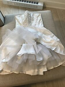 Betsey Johnson Cocktail Wedding Dress New With Tags