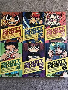 Scott Pilgrim Hardcover Colour Editions 1-6