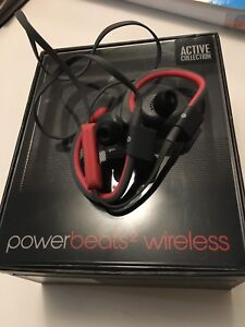 Powerbeats 2 wireless earphones