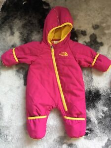 0-3m & 3-6m North Face snowsuits