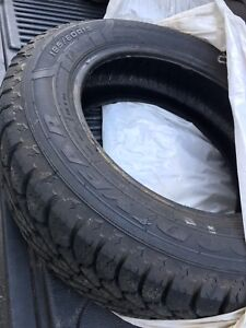 Set of 4 basically new winter tires
