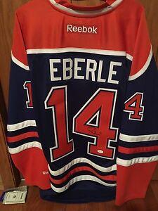 Jordan Eberle Autographed Jersey