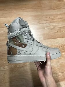 "Nike Special Force Air Force ""Desert Camo"" Sz 9.5"