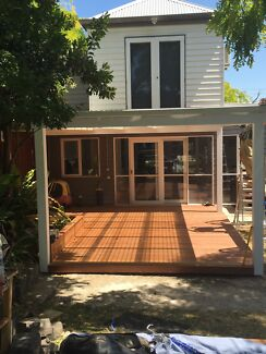 Carpenters- We build decks and pergolas