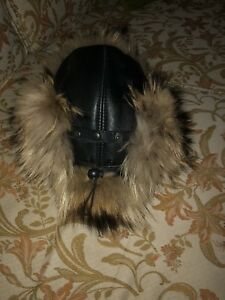 2 Authentic Fur Hats from Russia