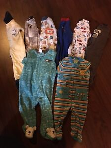 Boys sleepers 6-9 months Lot #9