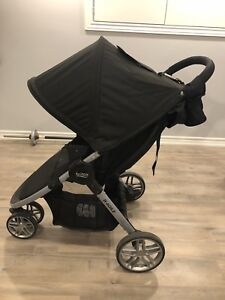 Britax B-Agile Elite Travel System (2017) with extras