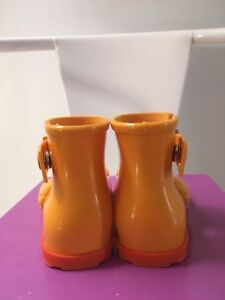 Mini Melissa Animal Lovers rubber boots size 6