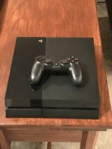 Original PS4 (500Gb) console and controller for sale
