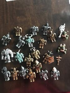 Mega Bloks knights mini figures