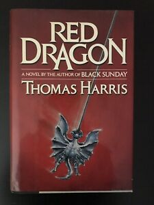 RED DRAGON FIRST EDITION FIRST PRINTING HANNIBAL LECTER