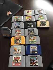 N64 and Gameboy Advance/Gameboy Colour/Gameboy Games and units