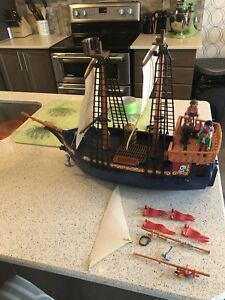 1978 Playmobil PIRATE CORSAIR SHIP