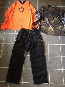 JT Paintball Pants and 2 Jerseys