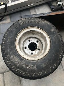 Low profile trailer tire and rims