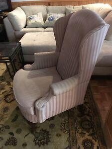 Wingback Chair light pink