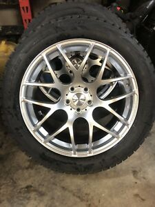 "19"" WHEELS 5x112 235/55/19 WINTERS NEW"