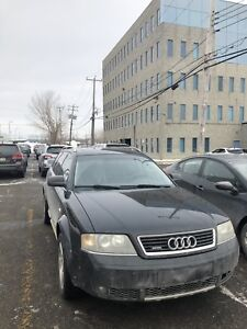 2005 Audi Allroad - 6 speed manual