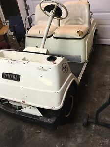 Yamaha two-stroke golf cart