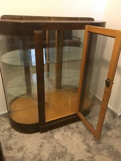 Vintage Art Deco china cabinet