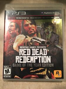 PS3 - Red Dead Redemption GOTY Edition