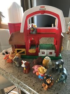 Ferme et animaux Fisher price my little people