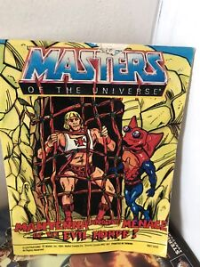 Vintage comics masters of the universe