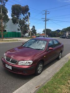 Nissan pulsar 2000 4 cylinder 1.8 LT{{ CURRENT RWC + REGISTRATION}} East Melbourne Melbourne City Preview