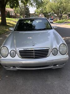 2002 MERCEDES E320 4MATIC
