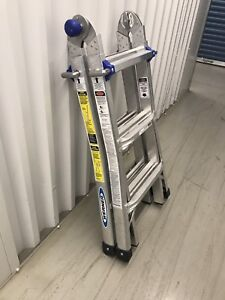 Like new 13' Werner multipurpose ladder