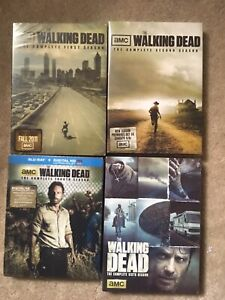 The Walking Dead Seasons 1,2,4 and 6 New