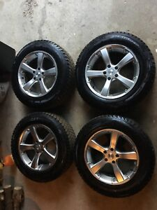 Blizzak Winter/Snow Tires on Alloy Rims - Excellent Condition