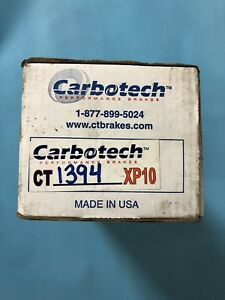 Carbotech XP10 High Performance Race Brake Pads