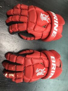 Lacrosse Gloves Brine Used 12""