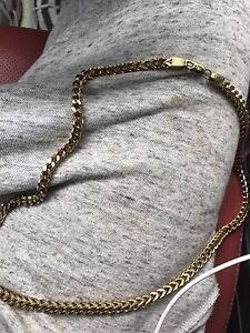 18kplated chain