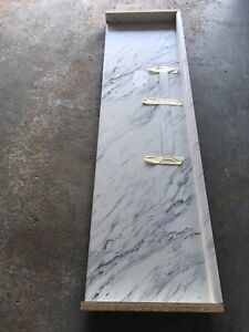2 different laminate counter tops for vanity (bathroom)