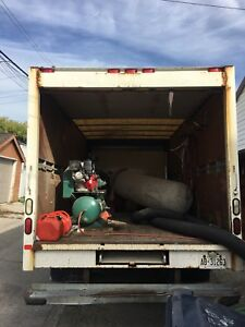 Selling Duct Cleaning Truck.