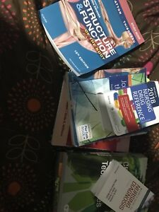 First year LPN Course books for NSCC