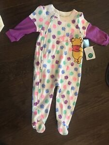 Two zip-up Onesies girls new with tags