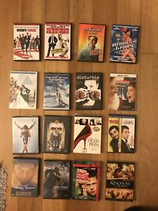 DVD collection $3 each