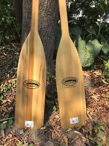 Canoe paddles 5'  Solid wood excellent condition